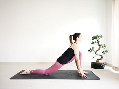 dragon pose yoga
