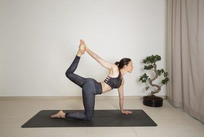 Tiger Pose Yoga